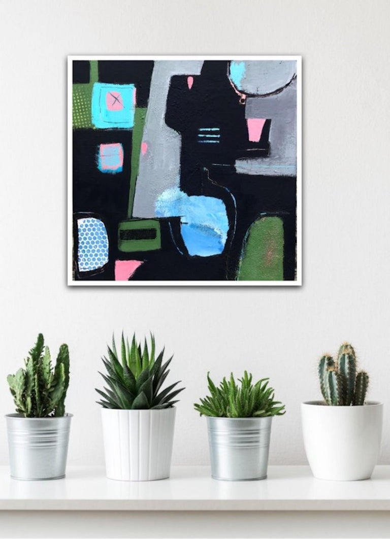 Maggie LaPorte Banks, Reflexions, Abstract Art, Contemporary Art, Affordable Art For Sale 4