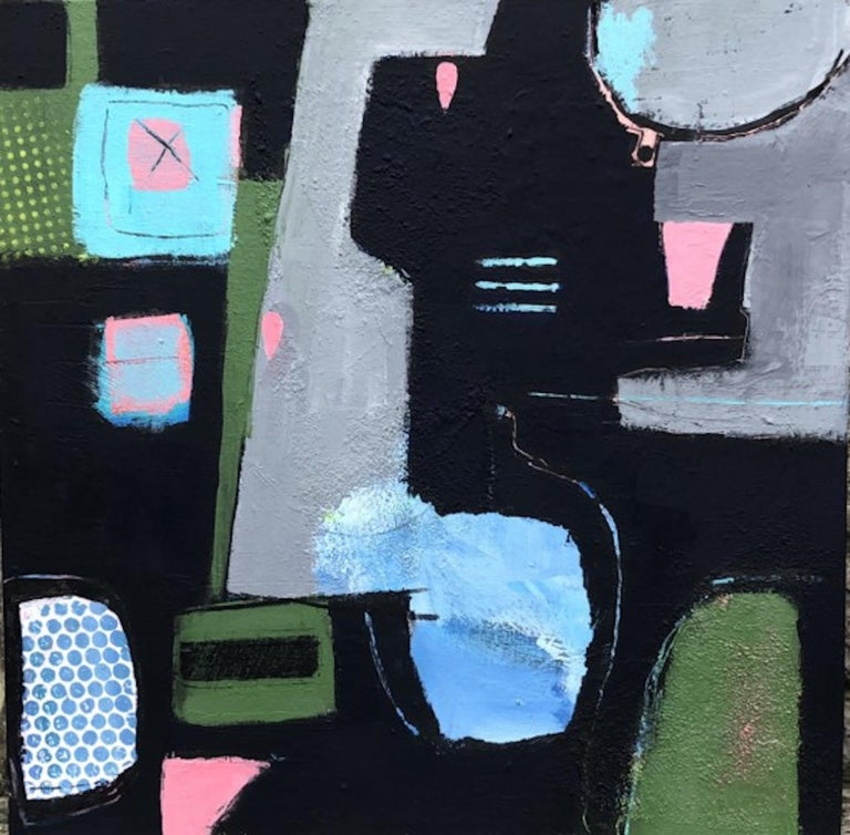 Maggie LaPorte Banks, Reflexions, Abstract Art, Contemporary Art, Affordable Art - Painting by Maggie LaPorte Banks