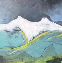 Pen y fan, December, Maggie LaPorte Banks, Abstract Art, Affordable Art