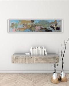 Soft Landscape, Contemporary Mixed Medium Artwork by Maggie LaPorte Banks