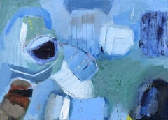 Summer Holidays, Maggie LaPorte Banks, contemporary abstract art, original art