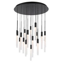 Magic 21-Light Cluster Cylinder LED Pendant