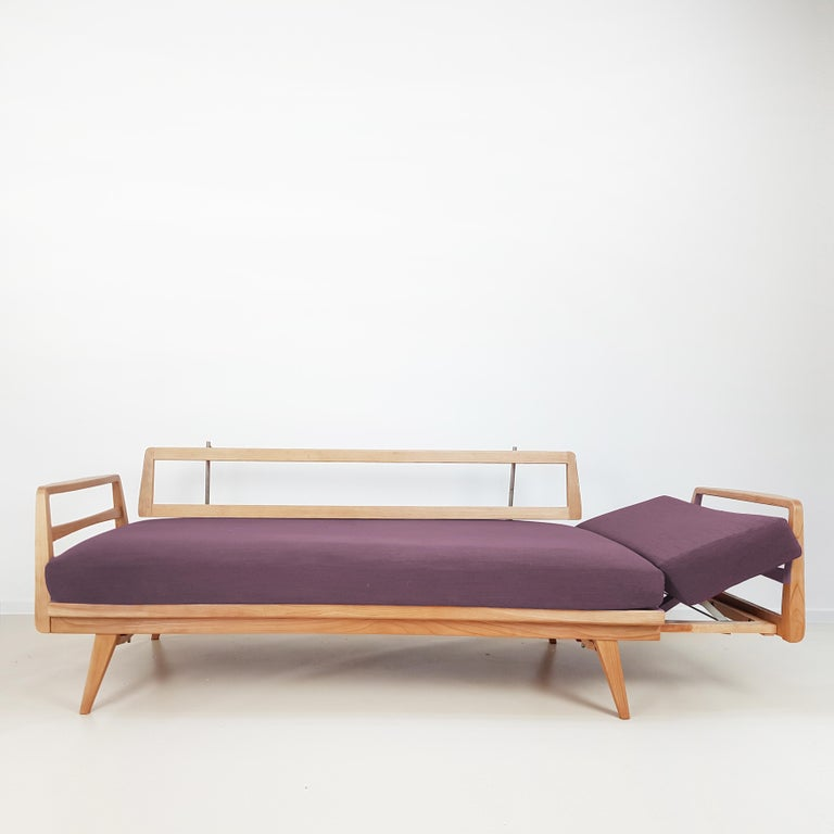 Mid-Century Modern Magic Daybed by Wilhelm Knoll for Antimott, 1960 For Sale