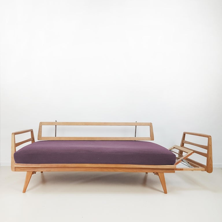 German Magic Daybed by Wilhelm Knoll for Antimott, 1960 For Sale