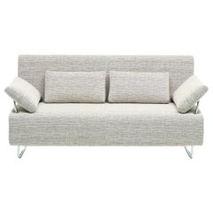 Magic White Fabric Sofa Bed by BBB Italia