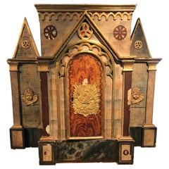 Magical Large Meticulously Detailed Gilt Cathedral Sculpture