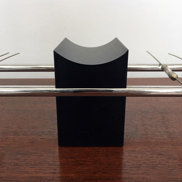 Magnetic Table Lamp by Theodore Waddell for Zanotta, 1971 For Sale 3