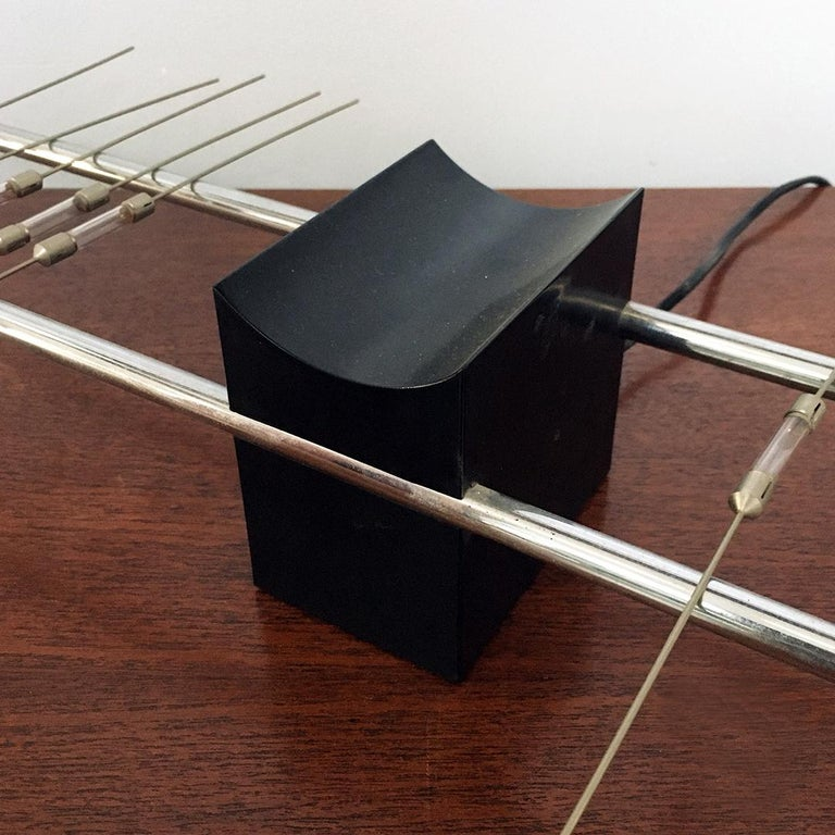 Magnetic Table Lamp by Theodore Waddell for Zanotta, 1971 For Sale 4