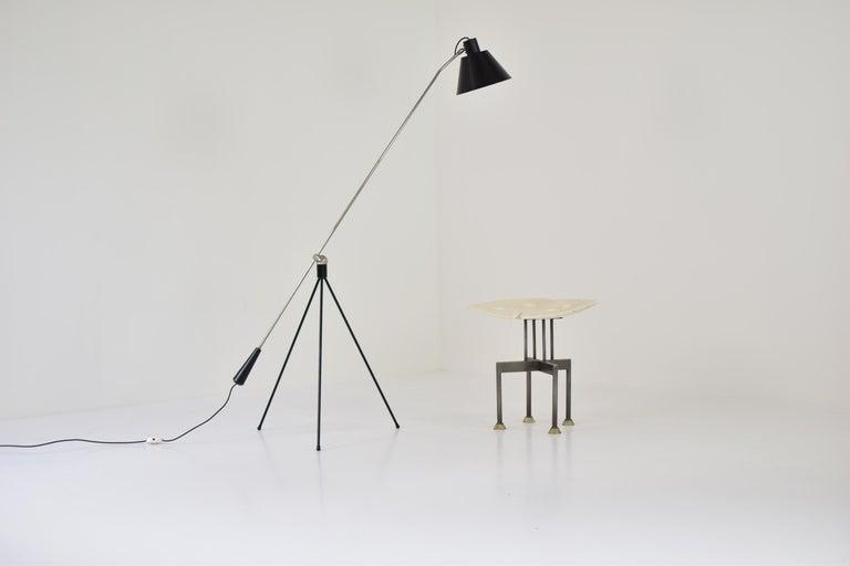 'Magneto' Floor Lamp by H. Fillekes for Artiforte, the Netherlands, 1954 For Sale 3