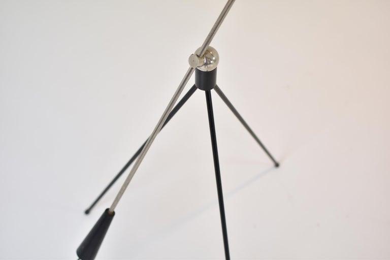 'Magneto' Floor Lamp by H. Fillekes for Artiforte, the Netherlands, 1954 For Sale 2