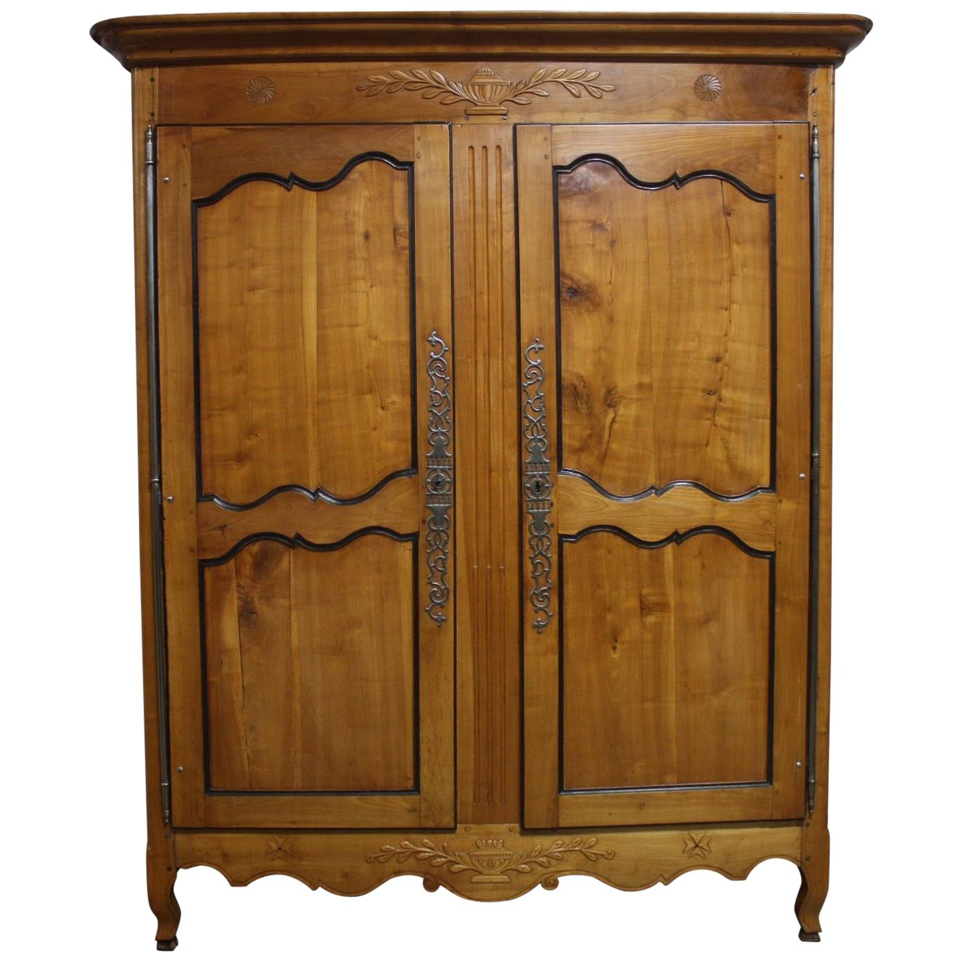Magnificent 18th Century French Armoire