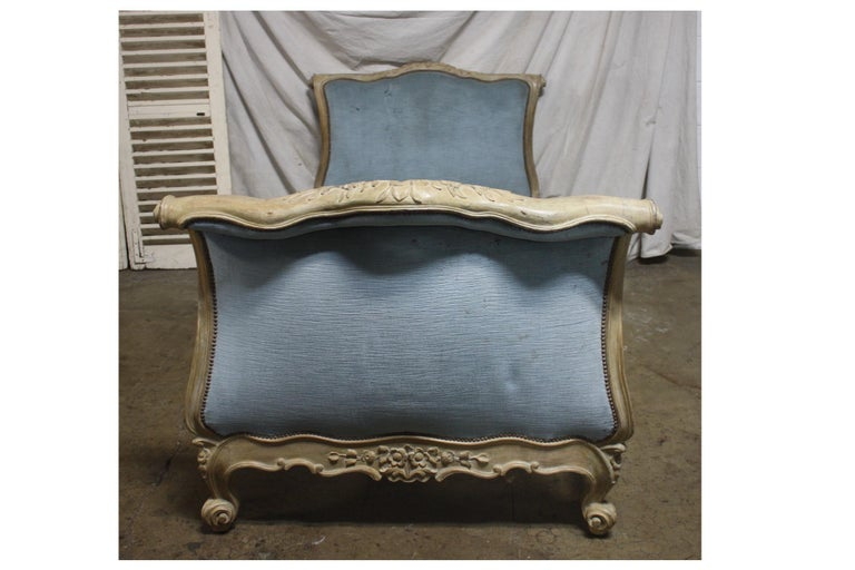 Magnificent 18th century French Louis XV period daybed.