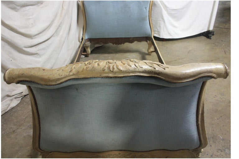 Magnificent 18th Century French Louis XV Period Daybed For Sale 2
