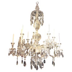 Magnificent All Crystal English Chandelier