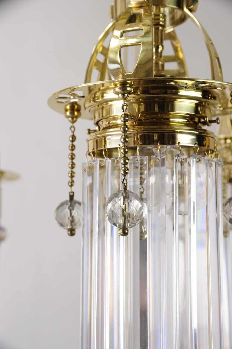 Magnificent and Huge Art Deco Chandelier Vienna, 1920s For Sale 6