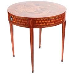 Magnificent Antique Inlaid Satinwood Centre Table