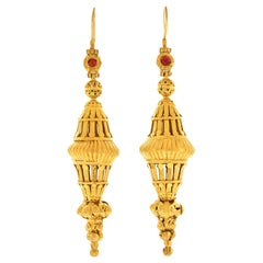 Magnificent Antique Mogul Earrings