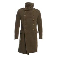 Magnificent Balmain Men's millitary coat