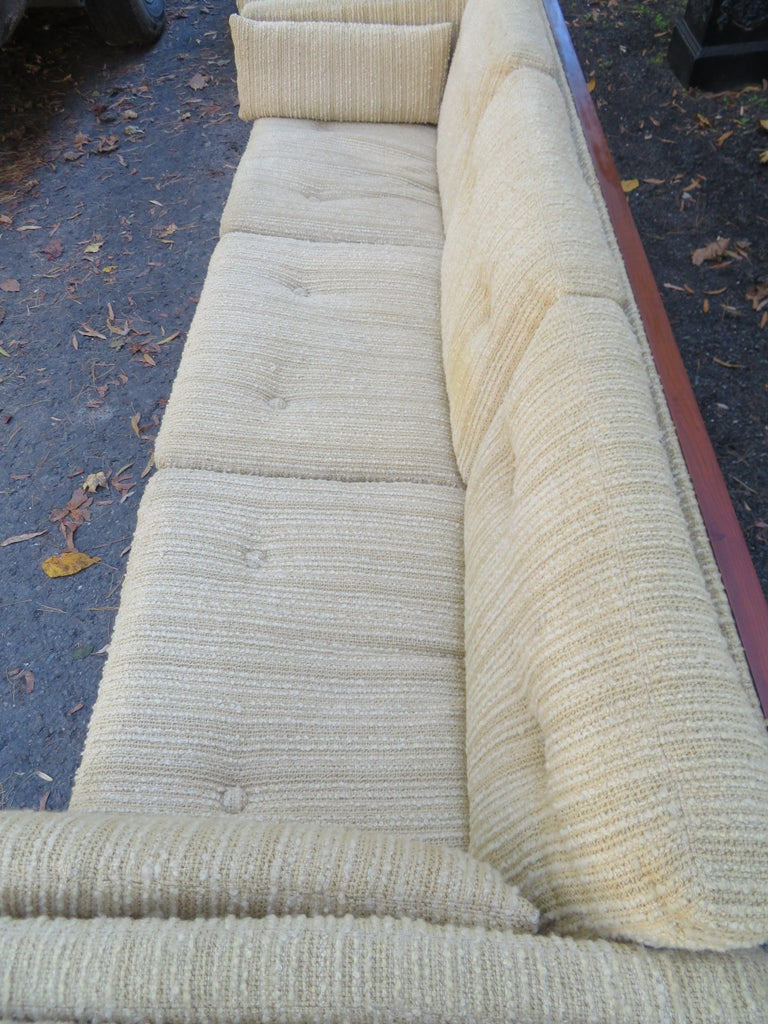 Magnificent Brazilian Rosewood Jydsk Mobelvaerk Case Sofa Danish modern For Sale 7