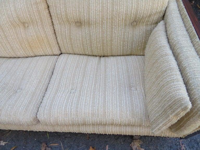 Magnificent Brazilian Rosewood Jydsk Mobelvaerk Case Sofa Danish modern For Sale 10