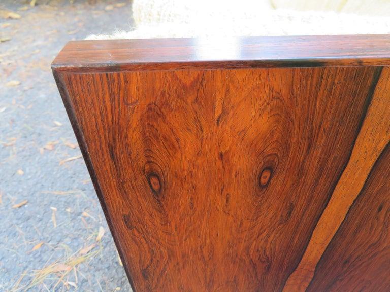Magnificent Brazilian Rosewood Jydsk Mobelvaerk Case Sofa Danish modern For Sale 12