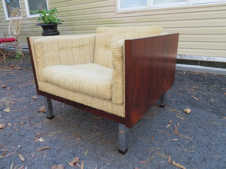 Magnificent Brazilian Rosewood Jydsk Mobelvaerk Case Sofa Danish modern For Sale 14