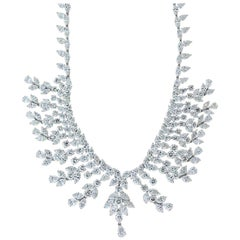 Magnificent Diamond Gold Necklace