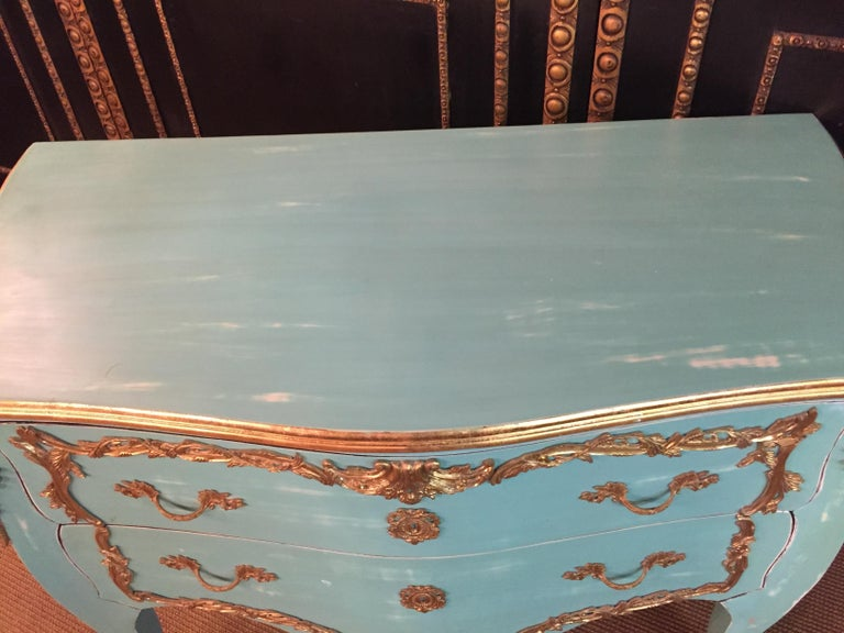 Magnificent French Chest of Drawers in Louis Quinze Style For Sale 8