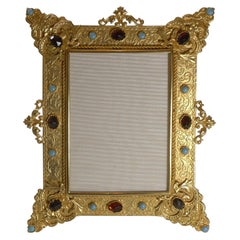 Magnificent French Gilded Bronze Picture Frame, c.1900
