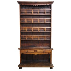 Magnificent French Rustic 18th Century Hutch