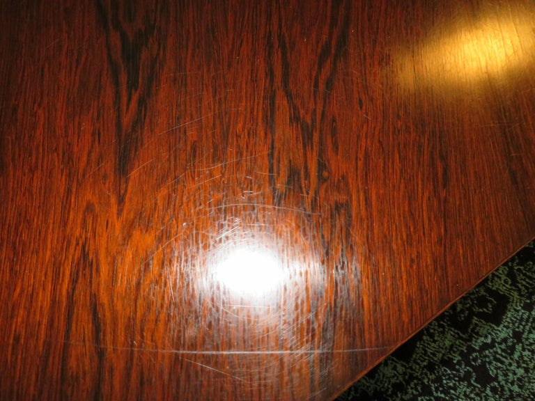 Magnificent Harvey Probber Rosewood Decagon Bar Table Mid-Century Modern For Sale 10