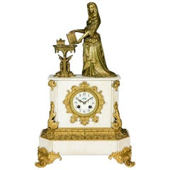 Magnificent Historicism Clock or Mantel Clock from circa 1890