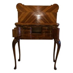 Magnificent Italian Modena Console Table, Card Table, Desk, circa 1750