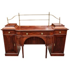 Magnificent Large Antique Mahogany Sideboard, circa 1880