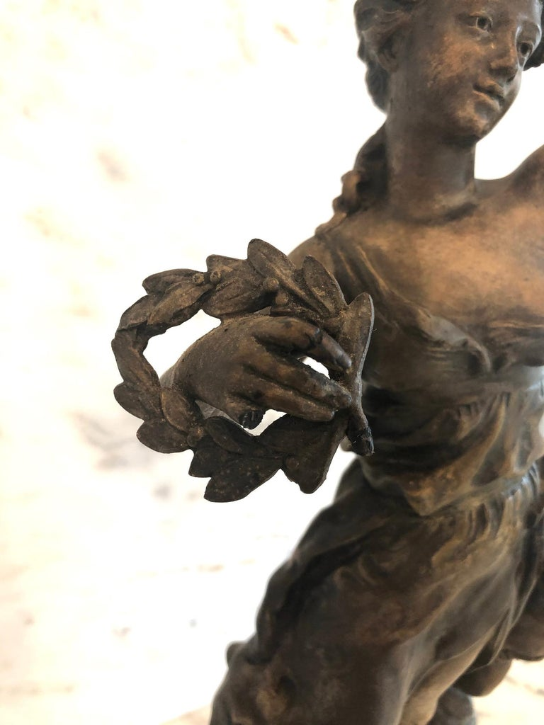 Magnificent Large French 19th Century Bronze Sculpture For Sale 1