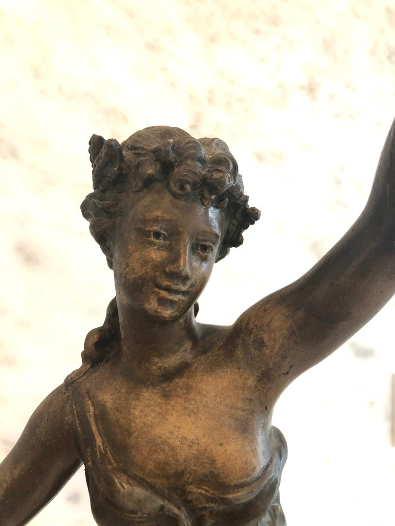 Magnificent Large French 19th Century Bronze Sculpture For Sale 4