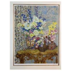 Magnificent Limited Edition Serigraph Still Life by John Powell