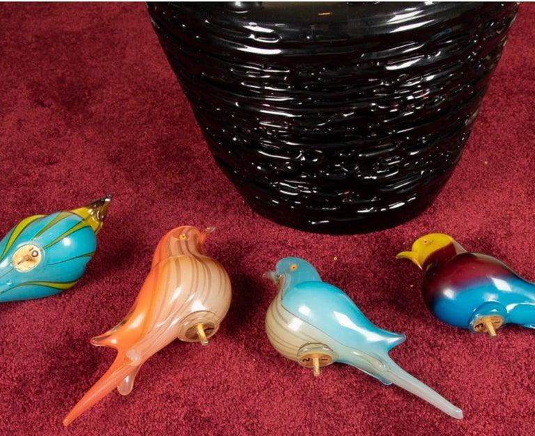 Contemporary Magnificent Murano Art Glass Sculpture by Maestro Sergio Constantini For Sale