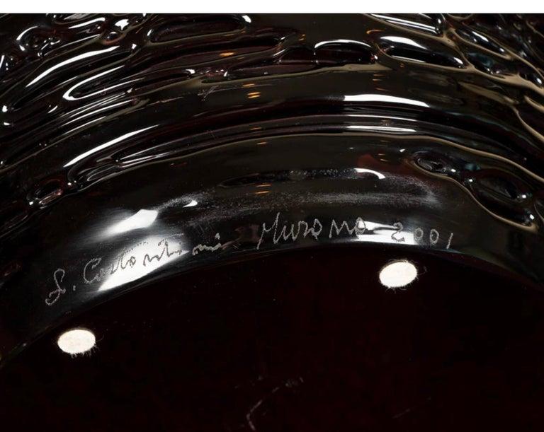 Magnificent Murano Art Glass Sculpture by Maestro Sergio Constantini For Sale 3