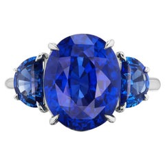 Magnificent Oval Sapphire Ring