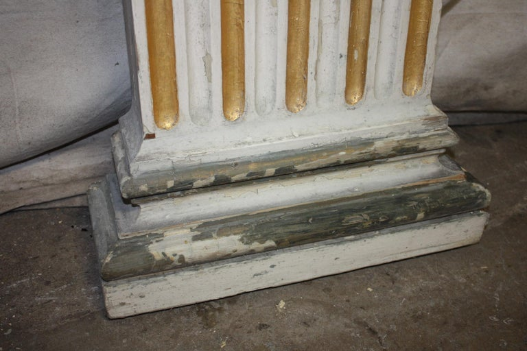 Magnificent Pair of 19th Century French Columns For Sale 4