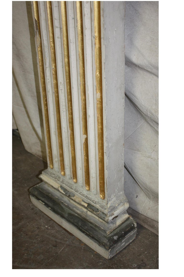 Wood Magnificent Pair of 19th Century French Columns For Sale