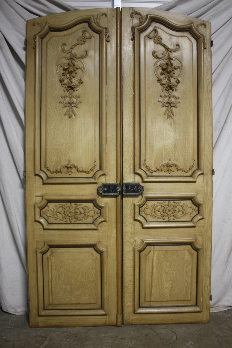 Magnificent Pair of 19th Century French Doors For Sale 4