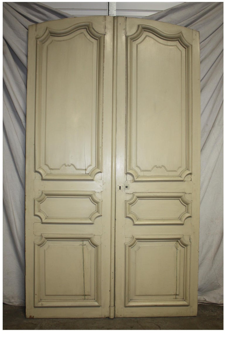 Magnificent Pair of 19th Century French Doors For Sale 5