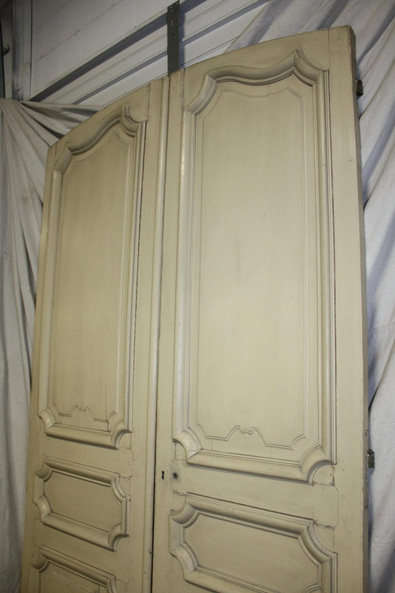 Magnificent Pair of 19th Century French Doors For Sale 6