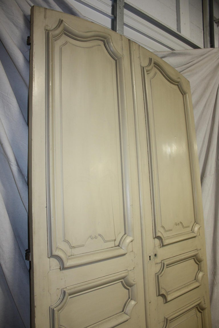 Magnificent Pair of 19th Century French Doors For Sale 7