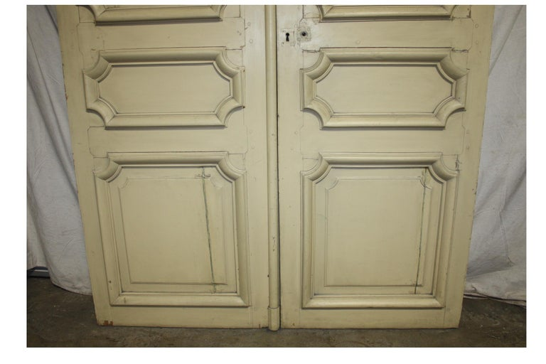 Magnificent Pair of 19th Century French Doors For Sale 8