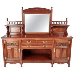 Magnificent Quality Antique Gillow & Co Mahogany Sideboard, circa 1880
