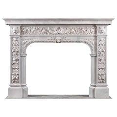 Magnificent Renaissance Revival Chimneypiece