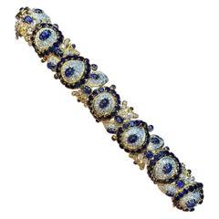 Sapphire Bracelet by Van Cleef and Arpels